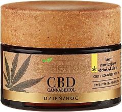 Feuchtigkeitsspendende Entgiftungscreme mit Hanföl - Bielenda CBD Cannabidiol Cream — Bild N2