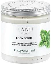 Düfte, Parfümerie und Kosmetik Körperpeeling mit Eukalyptus- und Minzduft - Kanu Nature Eucalyptus With Mint Body Scrub