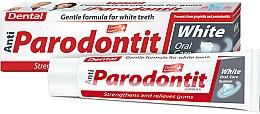 Düfte, Parfümerie und Kosmetik Aufhellende Zahnpasta Anti-Parodontit White - Dental Anti-Parodontit White