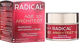 Düfte, Parfümerie und Kosmetik Pflegende Anti-Falten Nachtcreme 50+ - Farmona Radical Age Architect Nourishing Anti Wrinkle Cream