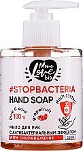 Düfte, Parfümerie und Kosmetik Antibakterielle Handseife Grapefruit-Teebaum - MonoLove Bio Hand Soap With Chlorhexidine