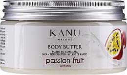 Düfte, Parfümerie und Kosmetik Shea-Körperbutter Passionsfrucht - Kanu Nature Passion Fruit Body Butter