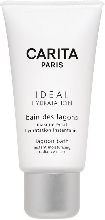 Feuchtigkeitsspendende Intensivkur für trockene Haut - Carita Ideal Hydration Lagoon Bath Instant Moisturising Radiance Mask — Bild N1