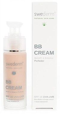 BB Pflege- Untergrund und Sonnenschutz Gesichtscreme SPF 15 - Swederm BB Cream Benefit Balance Perfector SPF 15 — Bild N1