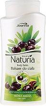 Düfte, Parfümerie und Kosmetik Körperbalsam mit Olivenöl für trockene Haut - Joanna Naturia Body Balm