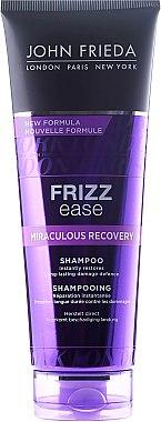 Wunder-Reparatur Shampoo für trockenes, widerspenstiges Haar - John Frieda Frizz Ease Miraculous Recovery Shampoo — Bild N1