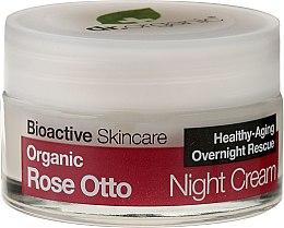 Düfte, Parfümerie und Kosmetik Nachtcreme mit Rose - Dr. Organic Rose Night Cream