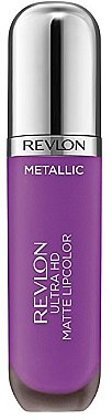 Mattierendes Lipgloss - Revlon Ultra HD Metallic Matte Lipcolor — Bild N1