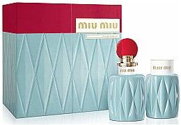 Düfte, Parfümerie und Kosmetik Miu Miu Miu Miu - Duftset (Eau de Parfum/100ml + Körperlotion/100ml)