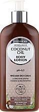Körperlotion mit Bio Kokosöl - GlySkinCare Coconut Oil Body Lotion — Bild N1