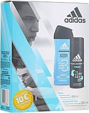 Düfte, Parfümerie und Kosmetik Körperpflegeset - Adidas After Sport (Deospray 150ml + Duschgel 250ml)