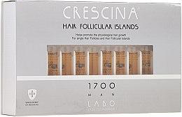 Düfte, Parfümerie und Kosmetik Haarwuchs stimulierende Ampullen für Männer 1700 - Crescina Hair Follicular Islands Re-Growth 1700