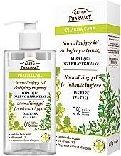 Düfte, Parfümerie und Kosmetik Gel für die Intimhygiene - Green Pharmacy Normalizing Gel