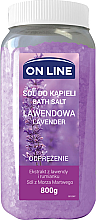 "Düfte, Parfümerie und Kosmetik Badesalze ""Lavendel"" - On Line Bath Lavender Salt"