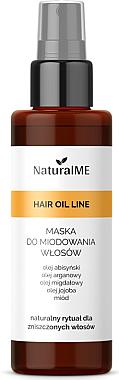Haarmaske mit Honig in Sprayform - NaturalME Hair Oil Line — Bild N1