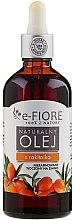 Düfte, Parfümerie und Kosmetik Natürliches unraffiniertes Sanddornöl - E-Fiore Natural Sea Buckthorn Oil