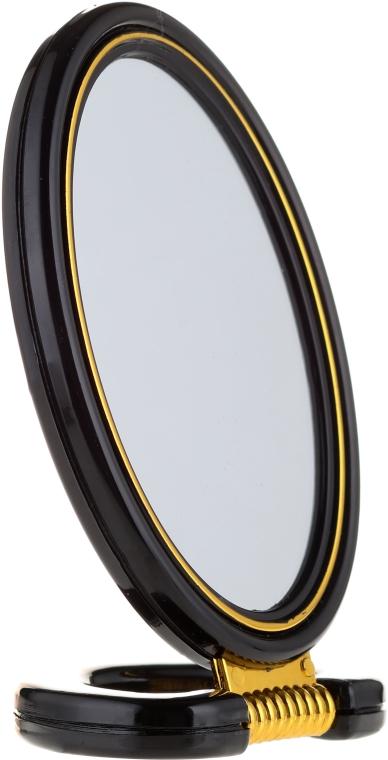 Kosmetikspiegel mit Ständer schwarz 5114 - Top Choice — Bild N1