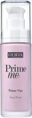 Gesichtsprimer zum Ausgleich von gelblichem Hautunterton - Pupa Prime Me Corrective Face Primer — Bild N1