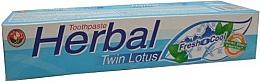 Düfte, Parfümerie und Kosmetik Kräuter-Zahnpasta - Twin Lotus Fresh & Cool