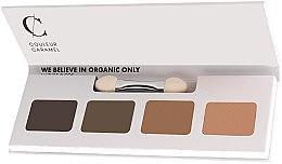 Düfte, Parfümerie und Kosmetik Lidschattenpalette - Couleur Caramel Bio Sublime Eye Palette