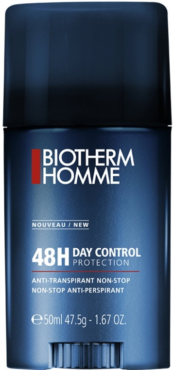 Deostick Antitranspirant - Biotherm Homme 48H Day Control Protection Non-stop Anti-Perspirant — Bild N1