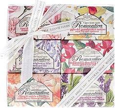 Düfte, Parfümerie und Kosmetik Naturseifen-Geschenkset Romantica - Nesti Dante Gift Set Natural Soaps Romantica Collection (6x150g)