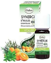 Düfte, Parfümerie und Kosmetik Ätherische Ölmischung mit Zitrone, Kiefer und Orange - Galeo Organic Essential Oil Synergy Vitality