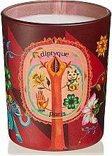 Düfte, Parfümerie und Kosmetik Duftkerze Lucky Flowers - Diptyque Spicy Lucky Flowers Candle