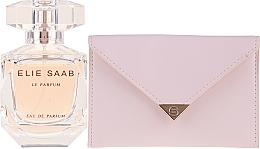 Düfte, Parfümerie und Kosmetik Elie Saab Le Parfum - Duftset (Eau de Parfum 50ml + Beauty Tasche)