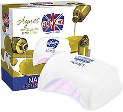 Düfte, Parfümerie und Kosmetik LED-Lampe für Nageldesign weiß - Ronney Profesional Agnes LED 48W (GY-LED-032)