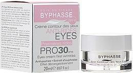 Düfte, Parfümerie und Kosmetik Augenkonturcreme gegen die ersten Anzeichen des Alterns - Byphasse Eyes Cream Pro30 Years First Wrinkles