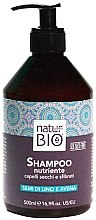Düfte, Parfümerie und Kosmetik Shampoo für trockenes und sprödes Haar - Renee Blanche Natur Green Bio Nutriente Shampoo
