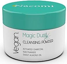 Düfte, Parfümerie und Kosmetik Detox Gesichtsreinigungsspuder mit Aktivkohle, Nicotinamid und süßem Mandelöl - Nacomi Face Cleansing & Detoxifying Powder Magic Dust