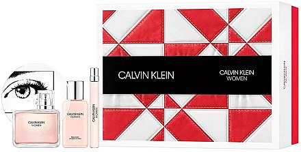 Calvin Klein Women - Duftset (Eau de Parfum 100ml + Körperlotion 100ml + Eau de Parfum Mini 10ml) — Bild N1