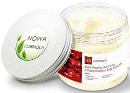 Düfte, Parfümerie und Kosmetik Klärendes Körperpeeling mit Sheabutter und Bochnia Salz - GoCranberry
