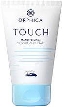 Düfte, Parfümerie und Kosmetik Feuchtigkeitsspendendes Handpeeling mit Mandelöl und Vitamin E - Orphica Touch Hand Peeling