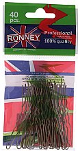 Düfte, Parfümerie und Kosmetik Haarnadeln gold 65 mm 40 St. - Ronney Golden Small Set Of Hair Pins