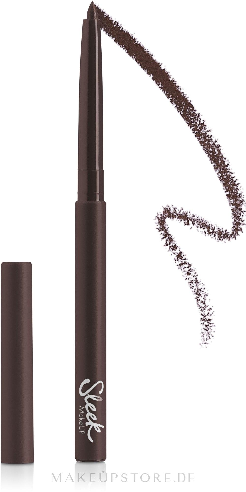 Automatischer Augenkonturenstift - Sleek MakeUP Twist Up Eye Pencil — Bild 142 - Chocolate