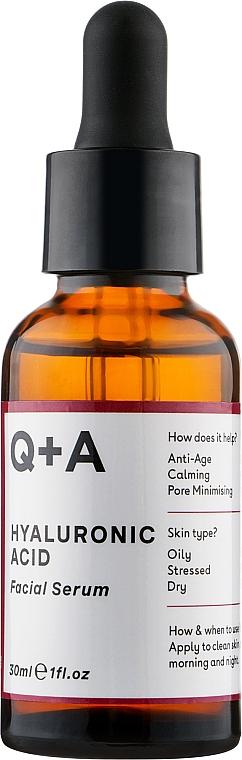 Gesichtsserum mit Hyaluronsäure - Q+A Hyaluronic Acid Facial Serum — Bild N1