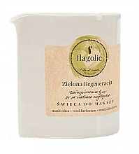 Düfte, Parfümerie und Kosmetik Massagekerze Green Regeneration - Flagolie Green Regeneration Massage Candle