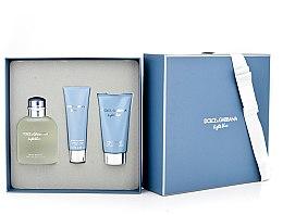 Dolce & Gabbana Light Blue Pour Homme - Duftset (Eau de Toilette 125ml + Duschgel 50ml +After Shave Balsam 75ml) — Bild N6