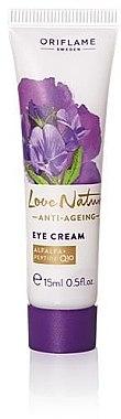 """Anti-Aging Augencreme """"Love Nature"""" - Oriflame Love Nature Anti-Aging Eye Cream — Bild N1"""