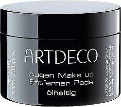 Düfte, Parfümerie und Kosmetik Augen-Make-up Entferner-Pads ölhaltig - Artdeco Eye Makeup Remover Pads Oily