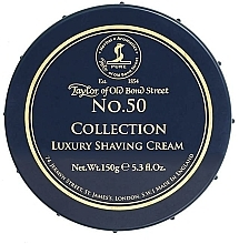Düfte, Parfümerie und Kosmetik Rasiercreme für empfindliche Haut - Taylor of Old Bond Street No.50 Collection Shaving Cream