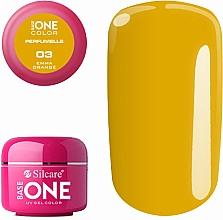 Düfte, Parfümerie und Kosmetik Parfümiertes Nagelgel - Silcare Base One Perfumelle UV Gel Color