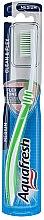 Düfte, Parfümerie und Kosmetik Zahnbürste mittel Clean & Flex grün-weiß - Aquafresh Clean & Flex