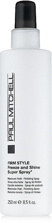 Haarspray Extra starker Halt - Paul Mitchell Firm Style Freeze & Shine Super Spray — Bild N2
