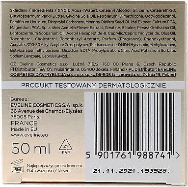 Stark regenerierende und pflegende Gesichtscreme mit Moringa-Öl, Manuka und Kalzium - Eveline Cosmetics Bio Manuka Bee Lift-tox 60+ — Bild N2