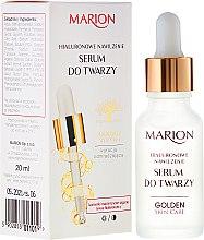 Düfte, Parfümerie und Kosmetik Gesichtsserum mit Hyaluronsäure - Marion Golden Skin Care