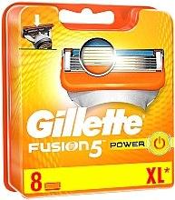 Düfte, Parfümerie und Kosmetik Ersatzklingen 8 St. - Gillette Fusion Power